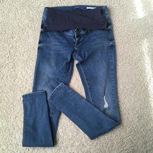 Seraphine Maternity Over Bump Super Skinny Jeans
